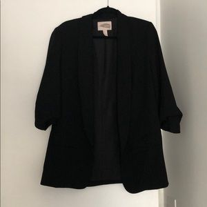Forever 21 black oversized blazer